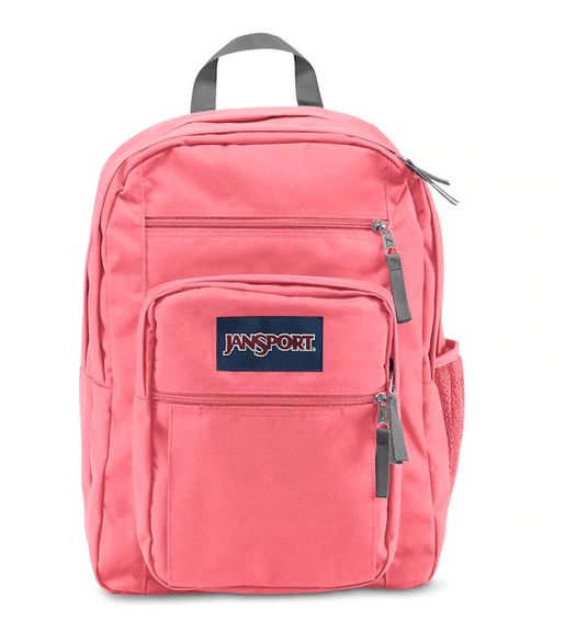 Pink backpacks can be for boys, too