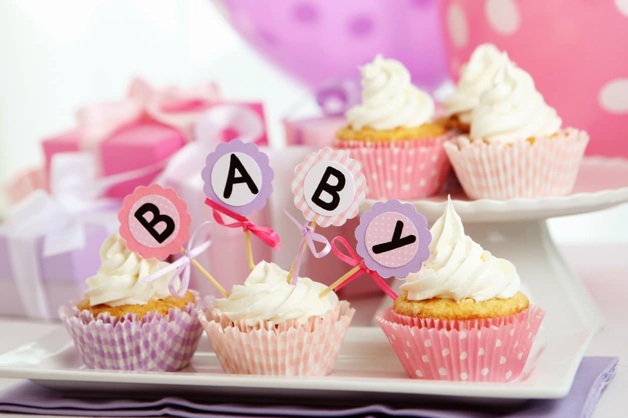 cupcakes for a baby shower - throw a big gay baby shower